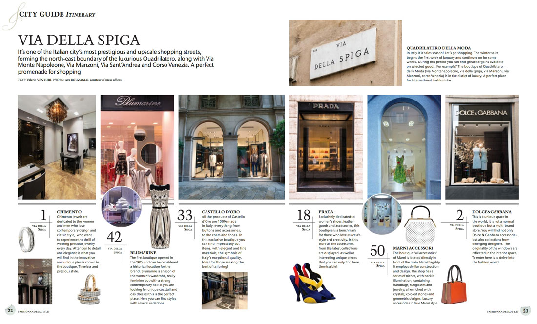 Fashion & Beauty Magazine: Editorial Graphic Design