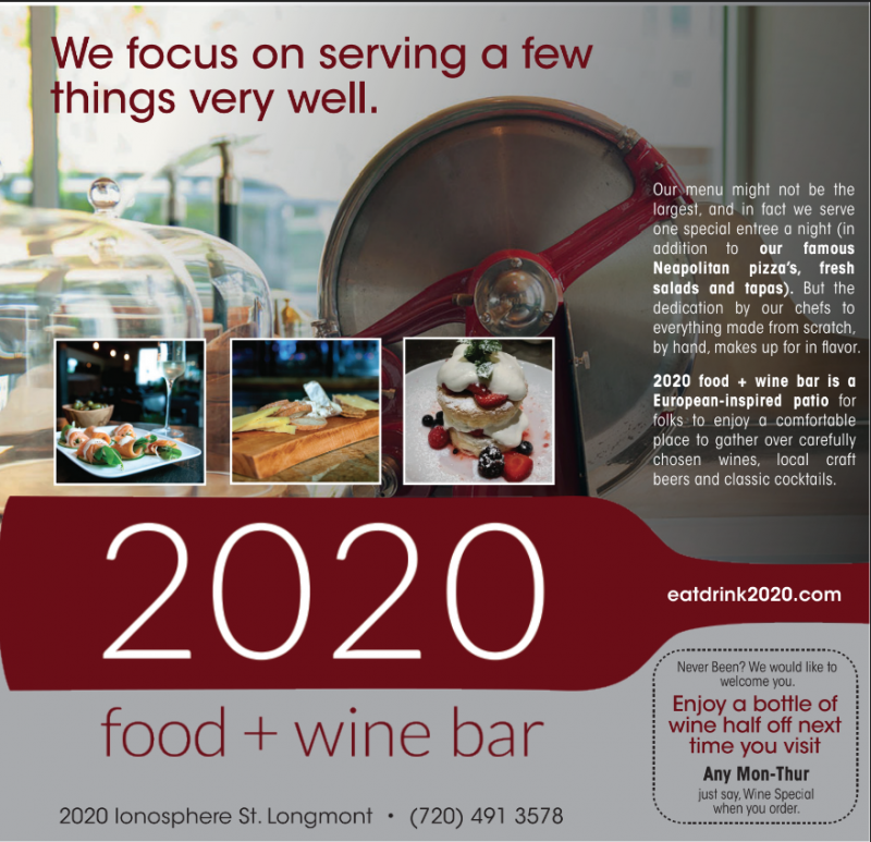 2020 food+wine bar